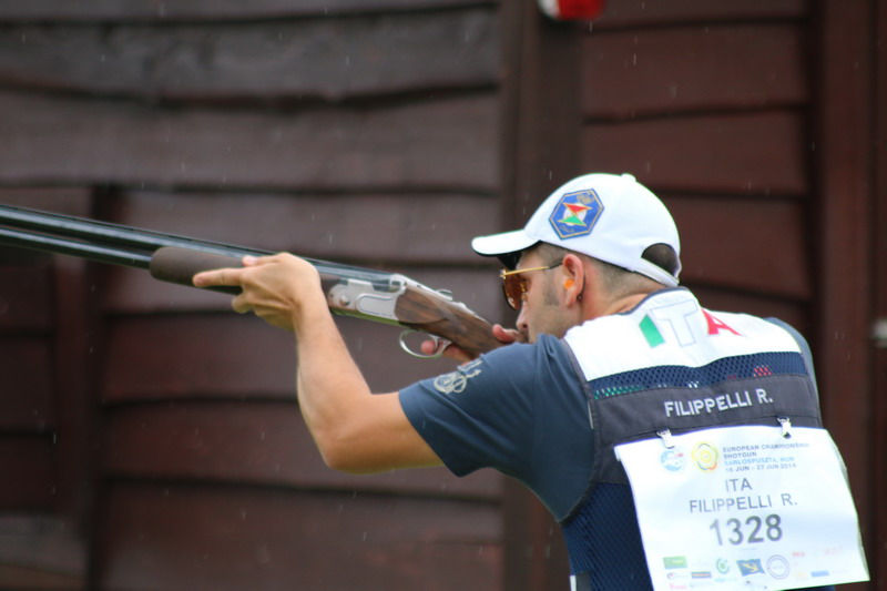 Italian skeet men team set a world record