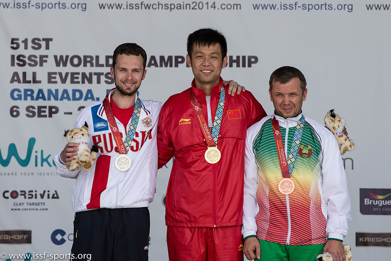 The European Solidarity: Olympic Champion Niccolo Campriani from Italy and Are Hansen from Norway get Olympic Quota Places thanks to the shooters from Russia and Belarus