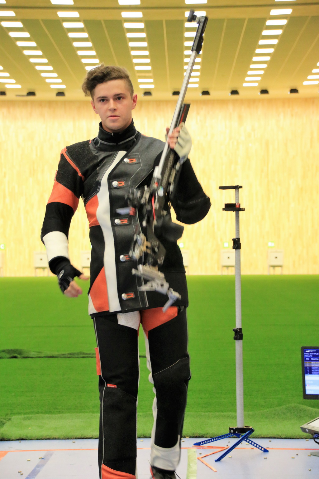 Nepejchal's triumph in Rifle 3 Positions Men Junior