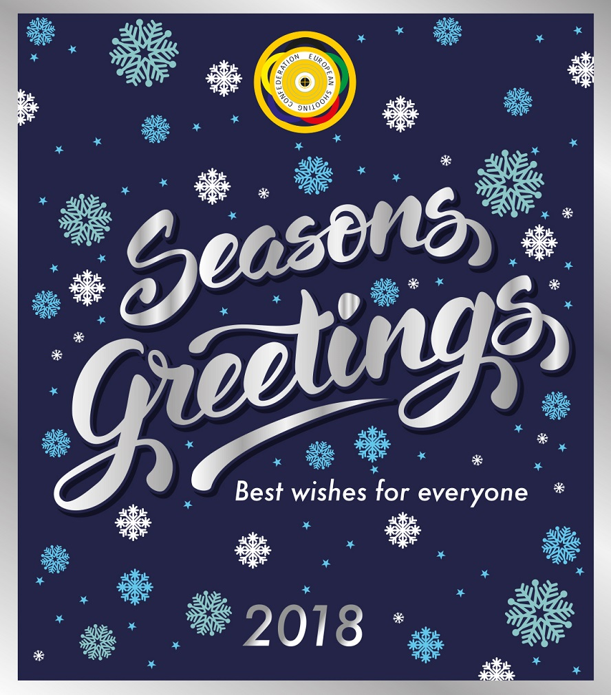 Best wishes from the European Shooting Confederation!