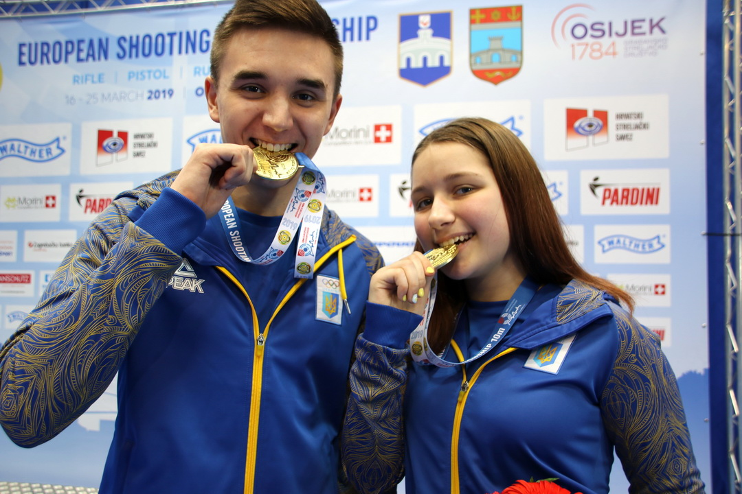 Ukraine went to superior victory in Pistol Mixed Team Juniors