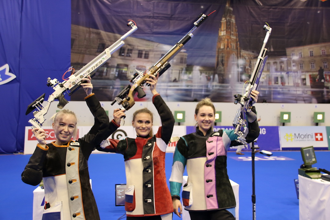 Russian Women ruled the 10m Air Rifle Women Team event